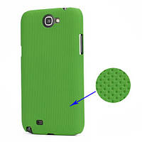 Чехол перфорированный на Samsung Galaxy Note 2 II N7100, зеленый