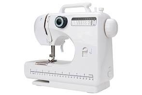 Багатофункціональна міні швейна машинка FHSM-506 Tivax, біло-чорна