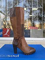 Женские сапоги Tamaris оригинал Германия натуральная кожа 37