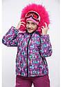 Зимний комплект куртка + комбинезон фиолетовый размеры 38 40 42, фото 2