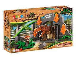 """Конструктор """"Мир динозавров"""" JDLT (5246)   68 деталей"""