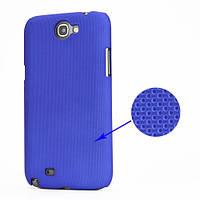 Чехол перфорированный на Samsung Galaxy Note 2 II N7100, синий
