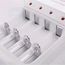 Зарядное устройство аккумуляторных батарей JIABAO JB-212 + аккумуляторы 4 шт. (AA), фото 3