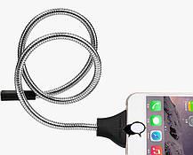 Кабель зарядки, держатель для айфона, Apple Lightning palms cable, гибкий шнур, фото 3