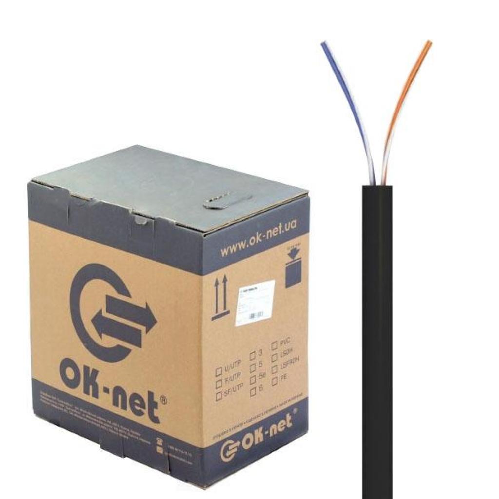 Кабель сетевой OK-Net UTP 305м 2 пары (КПП-ВП (100) 2х2х0,50 / 305)