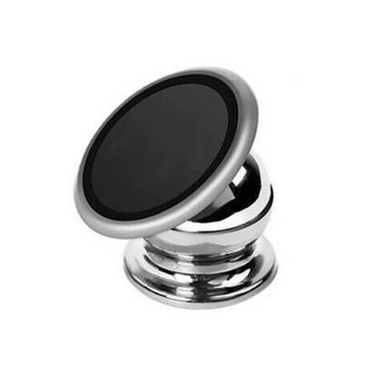 Магнитный автомобильный держатель для телефона Mobile Bracket - серебристый, фото 2