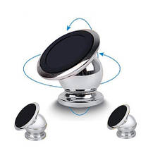 Магнітний тримач для телефону Mobile Bracket - сріблястий, фото 3