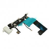 Порт зарядки iPhone 5 (White, Black) (снят с телефона) запчасти, ремонт, комплектующие, фото 1