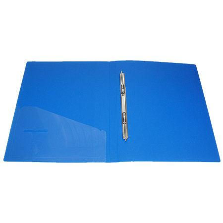 Папка клип-файл А4 c 1 скоросшивателем Economix 31201_Синий