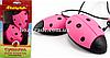 Сушилка для обуви детская (розово-черная)