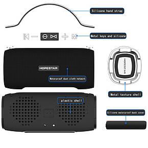 Портативна Bluetooth колонка HOPESTAR H24 Чорна, фото 2