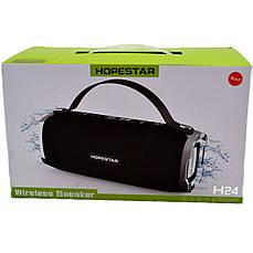 Портативна Bluetooth колонка HOPESTAR H24 Чорна, фото 3