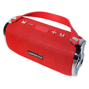 Портативная Bluetooth колонка HOPESTAR H24 (Красная), фото 2