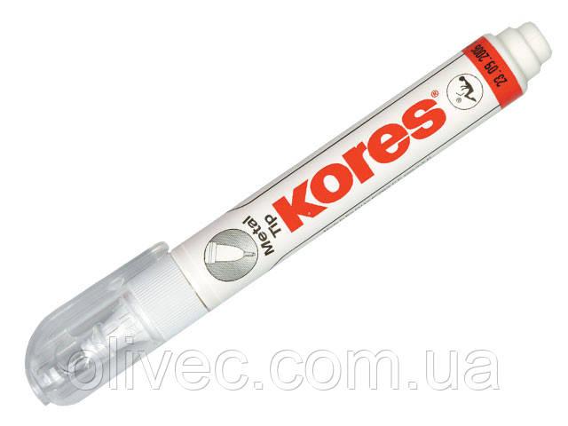 """Корректор-ручка """"Kores Metal Tip"""" 10 г."""