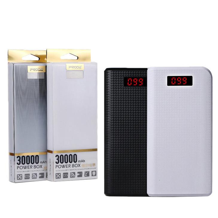 Внешний аккумулятор Power Bank Remax 30000mAh