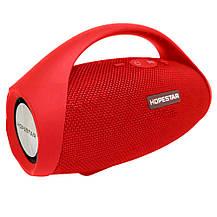 Портативная Bluetooth колонка HOPESTAR H32 (Красная), фото 2