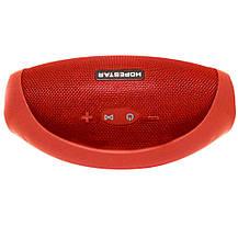Портативная Bluetooth колонка HOPESTAR H32 (Красная), фото 3