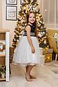 Платье нарядное детское np-33 Размеры 98- 128  TM Barbarris, фото 7