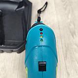 Аккумуляторная отвертка в пластиковом кейсе с набором бит, фото 8
