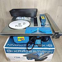 Электрический плиткорезKraissmann 1000 FSM 180