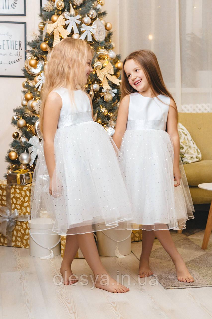 Платье нарядное детское np-34 TM Barbarris Размеры 98 - 128
