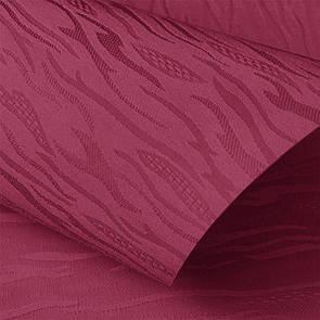 Рулонные шторы Lazur. Тканевые ролеты Лазурь (Ван Гог) Вишневый 2088, 130