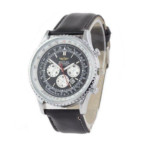 Breitling Chronometre Navitimer Black/Silver/White - Black