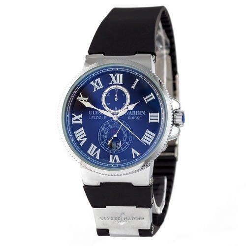 Ulysse Nardin Maxi Marine AA Silver-Black