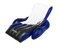 Надувной шезлонг - кресло Сooler Z Intex Intex 58868, 180*135 см, черно-белый