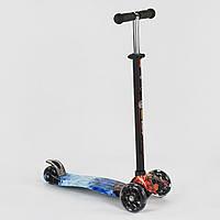 Самокат Best Scooter Maxi 779-1329, светящиеся PU колеса