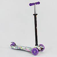 Самокат Best Scooter Maxi 779-1333, светящиеся PU колеса