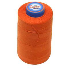Нитки швейные Super 40 2 бобина 3657м Оранжевые S40 2-034, КОД: 1314695