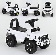 Машина-толокар 808 G-8005 JOY, цвет белый, русское озвучивание, световые эффекты, багажник