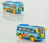 Музыкальная игрушка Автобус 908, песня на английском языке, подсветка фар