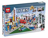 "Конструктор Lepin 02022 (аналог Lego City 10184) ""План города"", 2080 деталей"