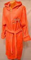 Махровый женский халат, фото 3