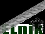 Трос 2 мм 6х7+1FC, цинк белый,, МЕТАЛВИС [91CTR0091CTR002720]