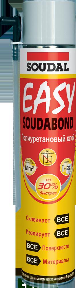 Пена-клей SOUDABOND EASY 750мл., SOUDAL [000010000000802EAB]