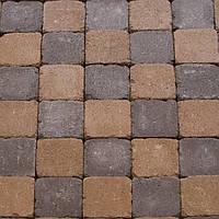 Обработанная тротуарная плитка Квадрат Антик, фото 1