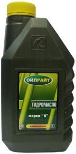 Масло гидравл. OIL RIGHT Марка А 1л