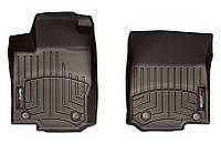 Коврики в салон Mercedes-Benz ML-Class W166 (GLE) 2011 -, какао, Tri-Extruded (WeatherTech, 474011) - передний ряд