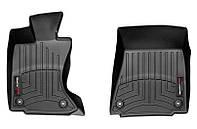 Коврики в салон Lexus GS IV (L10) (AWD) 2012 - 2019, какао, Tri-Extruded (WeatherTech, 444551) - передний ряд