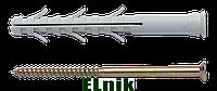 Анкер 10х115/55 нейлоновый с шурупом и потайной головкой APS-C, МЕТАЛВИС [92A10000092A1X0A2E]