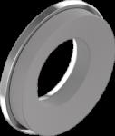 Шайба с резиною EPDM 6, 3, цинк белый, D19, METALVIS Украина [7G20000007G6319020]