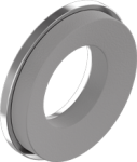 Шайба с резиною EPDM 4, 8, цинк белый, D16, METALVIS Украина [7G20000007G4816020]