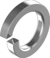 Гост6402 Шайба 16 пруж цинк(белый) s3,0 кг. Шайба пружинная (гровер) [7P20000007P162030K]