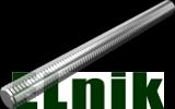 Стержень М8 3м 4.8, цинк белый, . DIN975, МЕТАЛВИС [5Z2005Z08048300200]