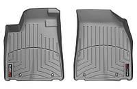 Коврики в салон Lexus RX III (AL10) (дорестайл) 2009 - 2012, серые, Tri-Extruded (WeatherTech, 462291) - передний ряд