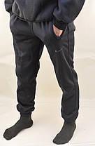 Брюки спортивные зимние мужские под манжет S - XXL  Штаны повседневные с начесом, фото 2