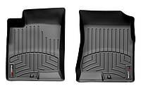 Коврики в салон Hyundai Sonata V (NF) (дорестайл) 2005 - 2007, черные, Tri-Extruded (WeatherTech, 441601) - передний ряд